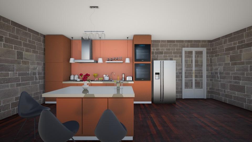 kitchenetto - Modern - Kitchen - by Kamale