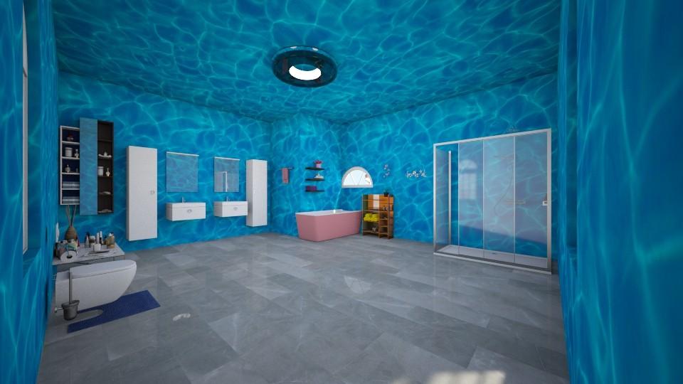 my bathroom - by kotki