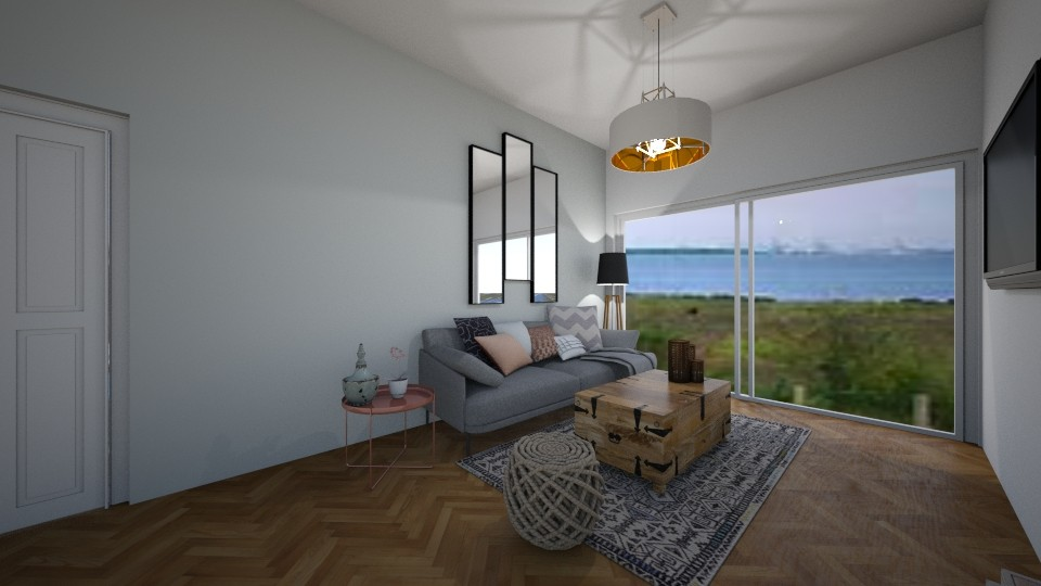 rose  - Living room - by MaluMeyer