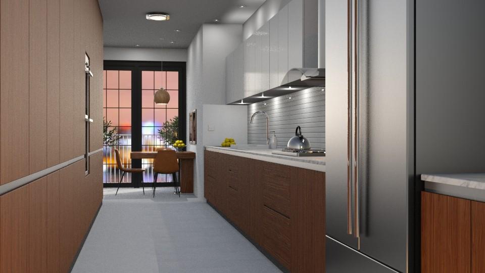 Galley Kitchen - Kitchen - by GraceKathryn