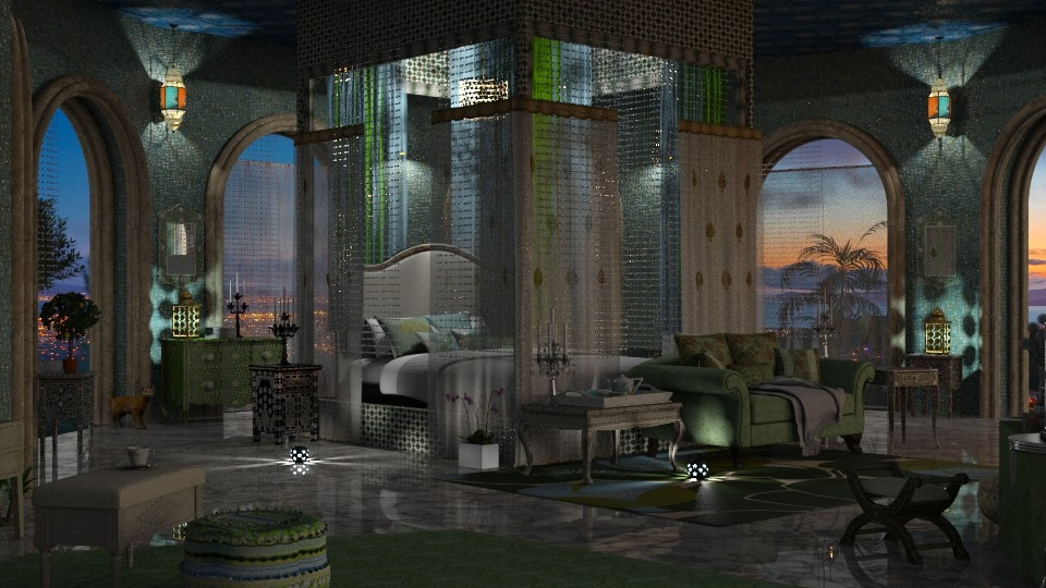 Jaya Nights8oclockIRay - Glamour - Bedroom - by anchajaya