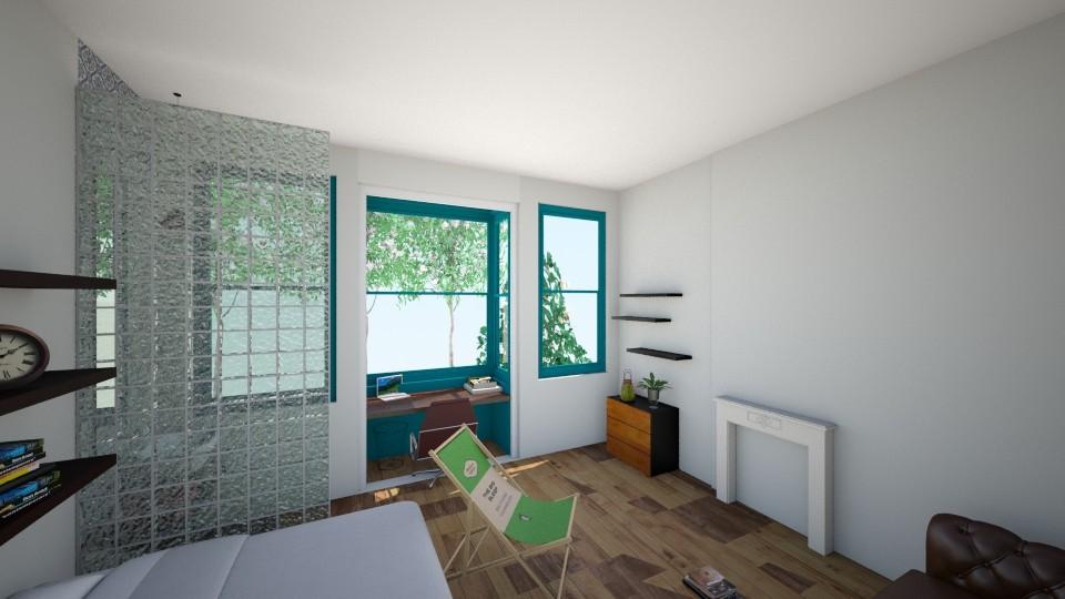 kot - Bedroom - by tombeele