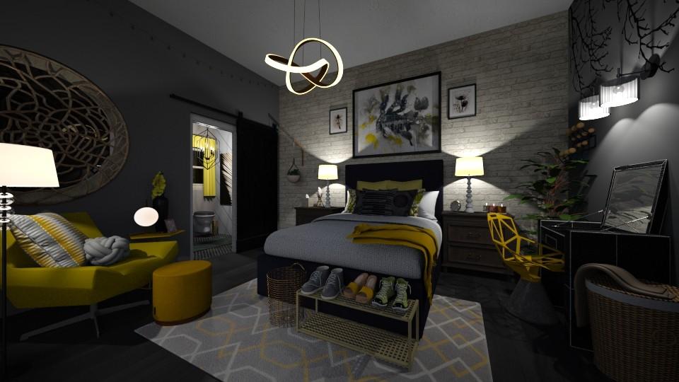bedroom - by starkey77