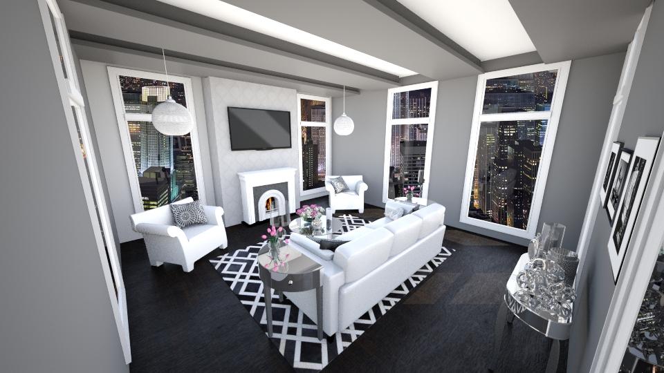 City Loft  - Living room - by jessicabaucke