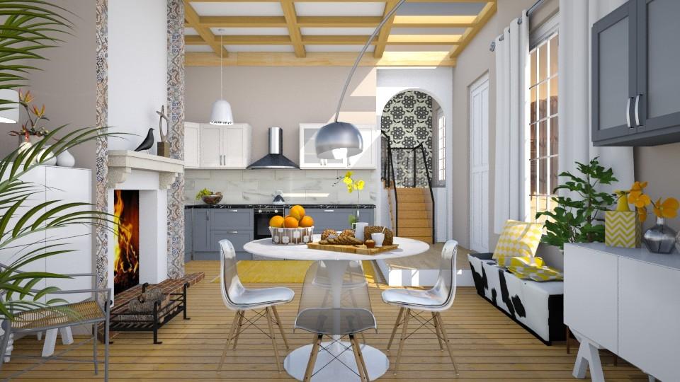 Eco Spring Morning - Modern - Kitchen - by janip