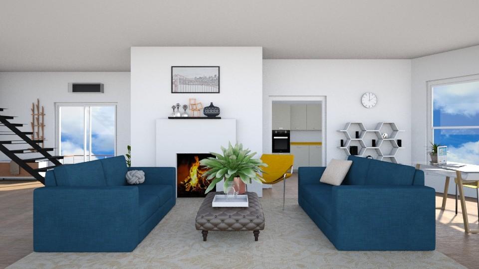 2019 Room - Living room - by seasidepine