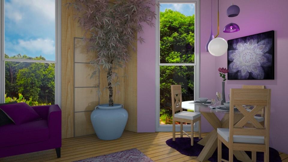 wood - Living room - by sirtsu
