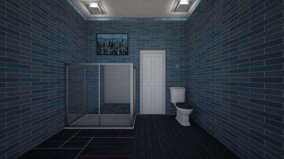 p - Bathroom - by The cartoon fan