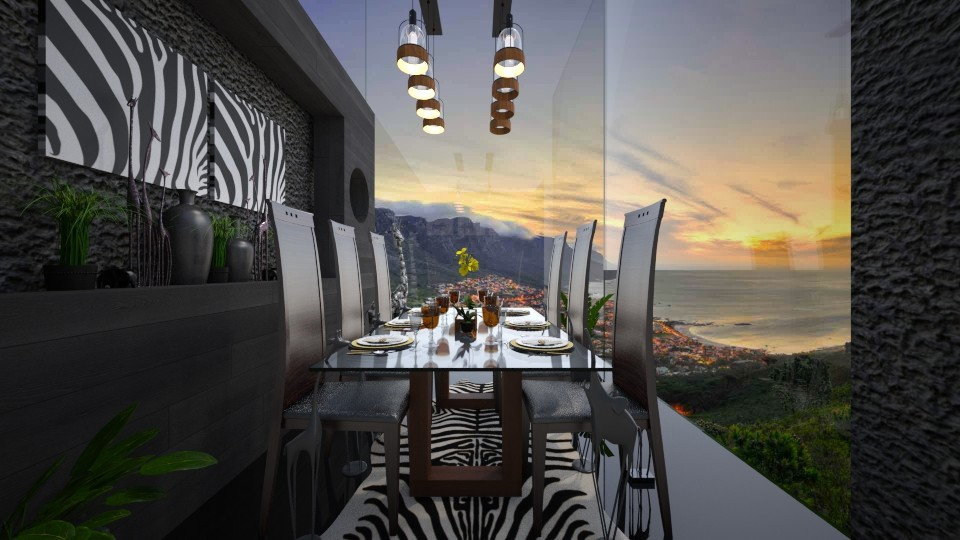 cape town dining  - Modern - Dining room - by Amal Soloman
