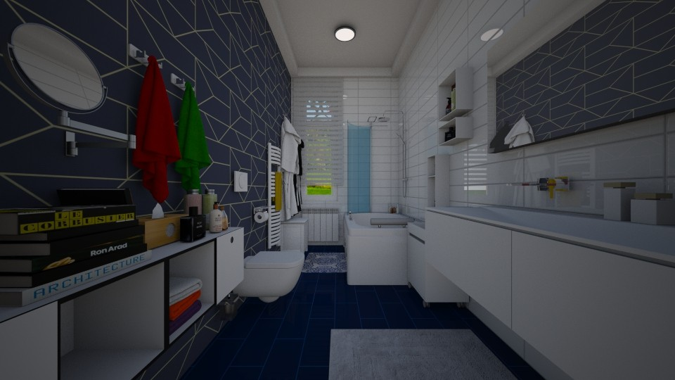 Artis Design Arad : The blue loo by conchy