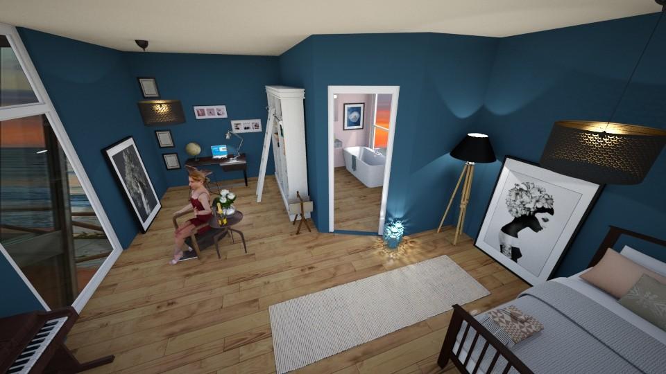 bigg room - Bedroom - by amilya