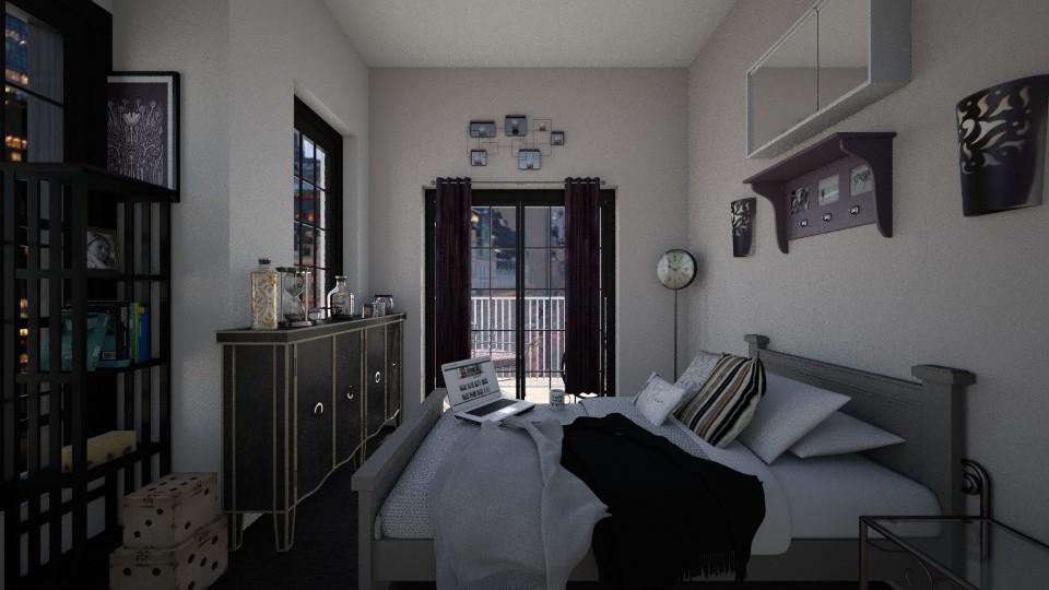tabby - Bedroom - by elle rose