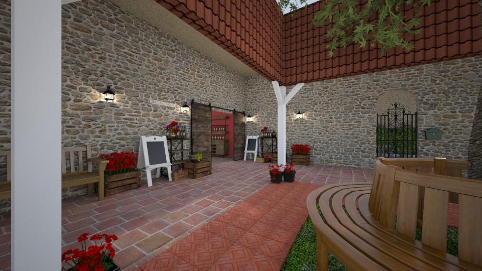 wine corner - Garden - by Phospective