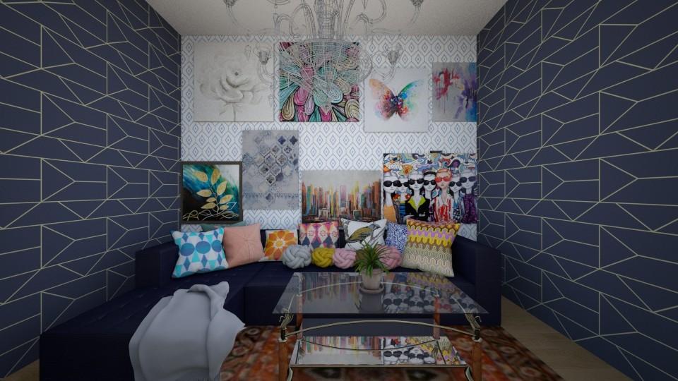 A R T S Y - Eclectic - Living room - by R A I N A