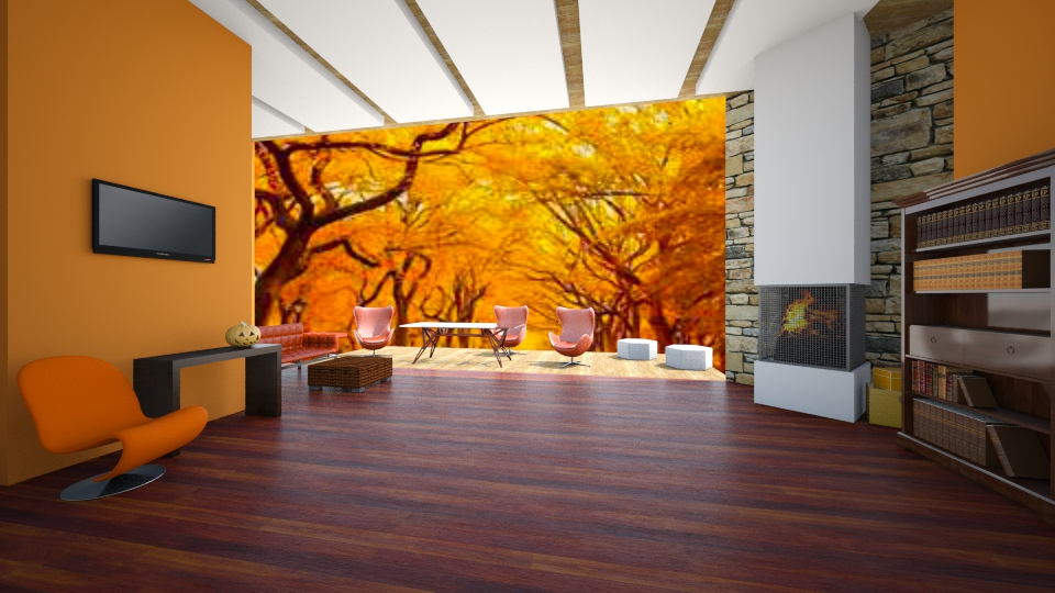 FALL  - Modern - Living room - by Calolynn