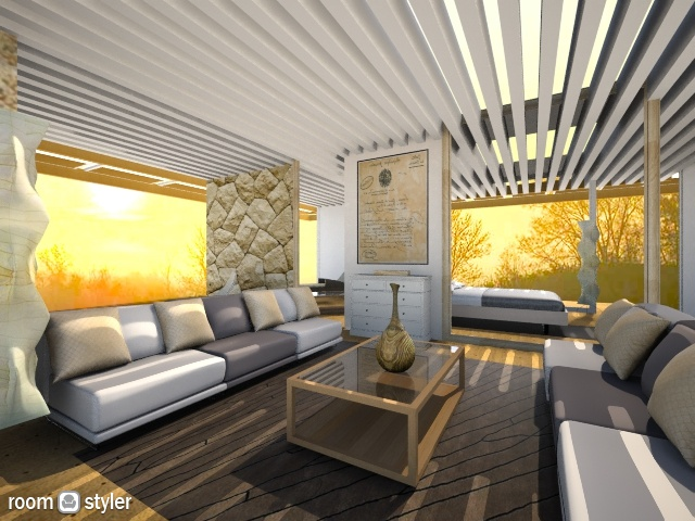 Desert Deam - Modern - Living room - by bisertanya