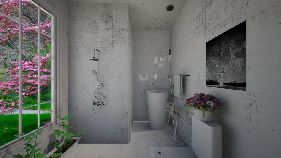 Eine Kleine  - Glamour - Bathroom - by Sara alwhatever