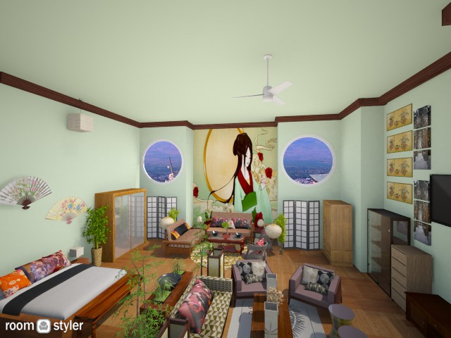 Japanese Room - Global - Bedroom - by DiamondJ569