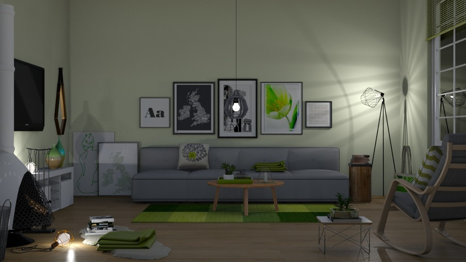 MsSmith - Modern - Living room - by Kathran