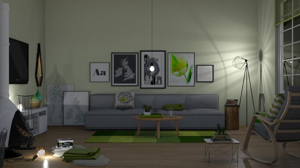MsSmith - Modern - Living room - by Kathran