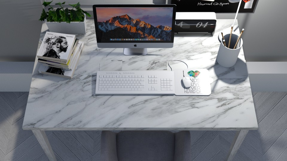 white office - by cuneyt oznur