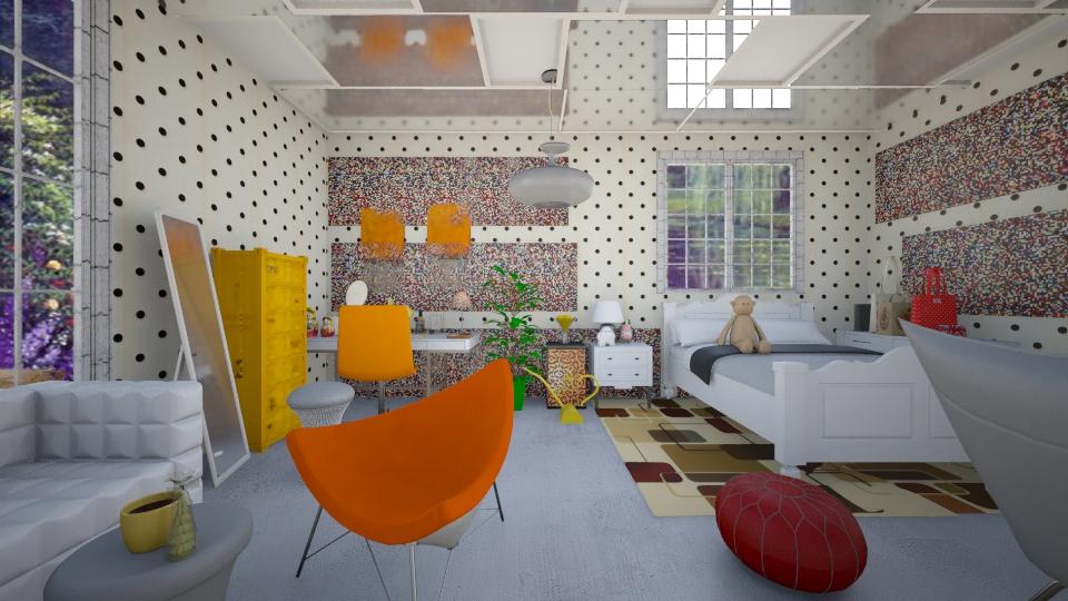 chambre jaune blanc autre - Bedroom - by FriendsofGOD