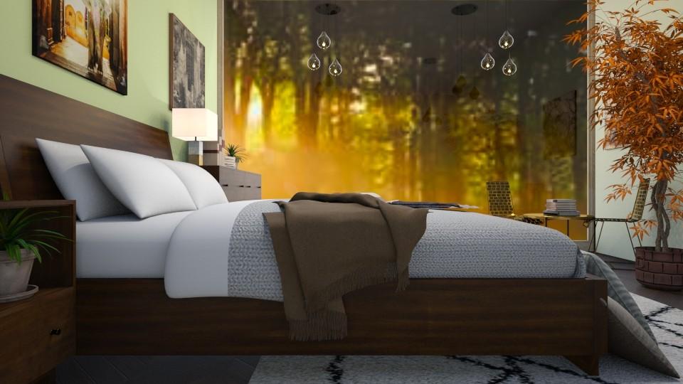 Autumn Bedroom - Bedroom - by millerfam