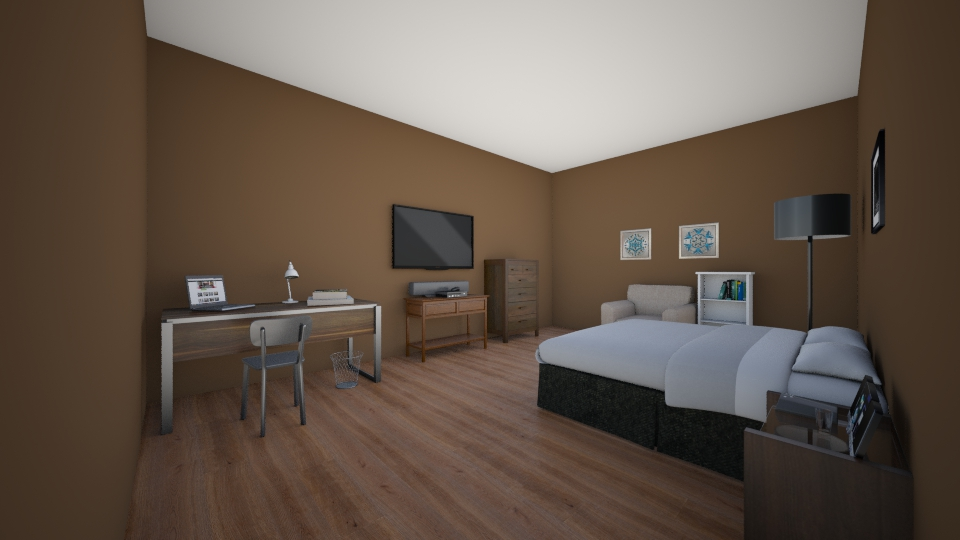 Simple Bedroom - Classic - Bedroom - by Owen Thompson_671