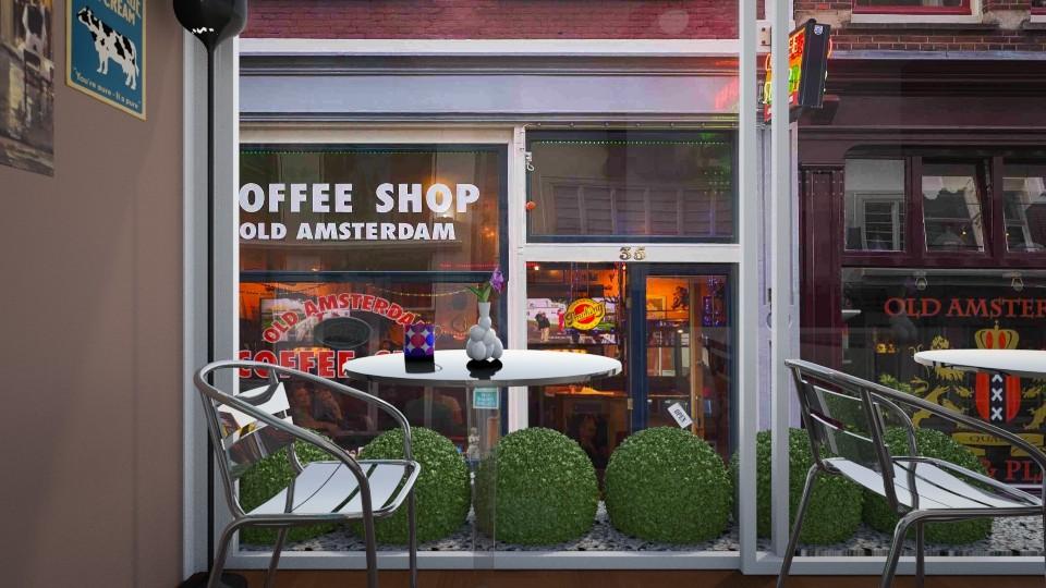Tiny cafe - by ijustlikemakingfloorplans