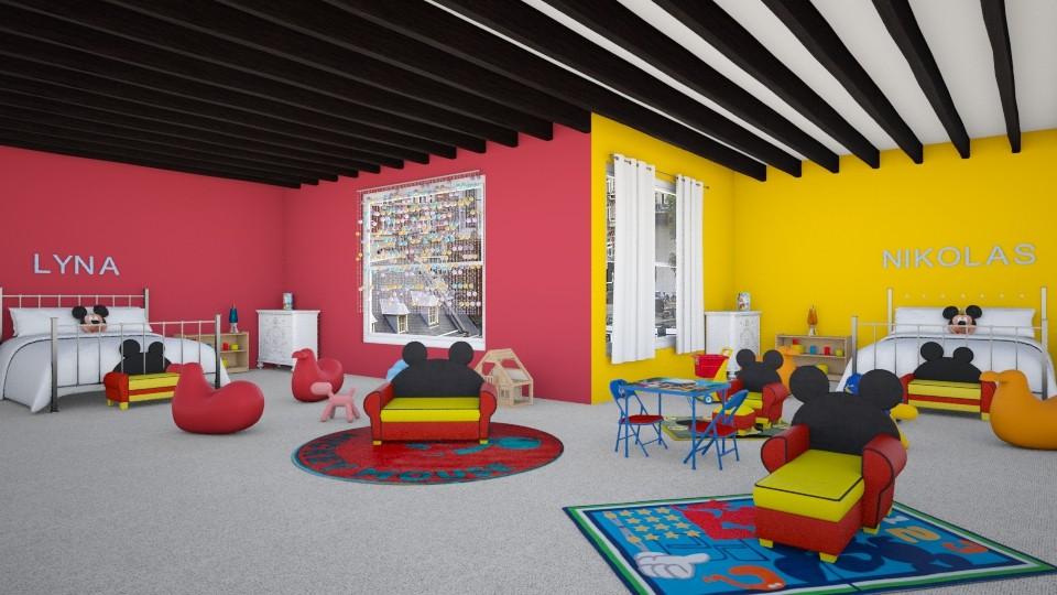 Nikolas And Lyna - Bedroom - by Agni Samil