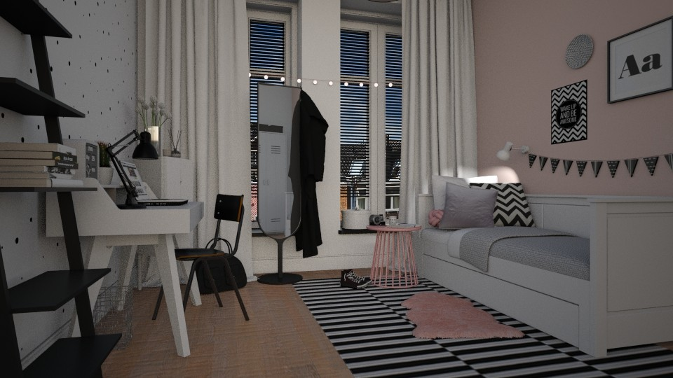 New home_girls room - by MandyB84