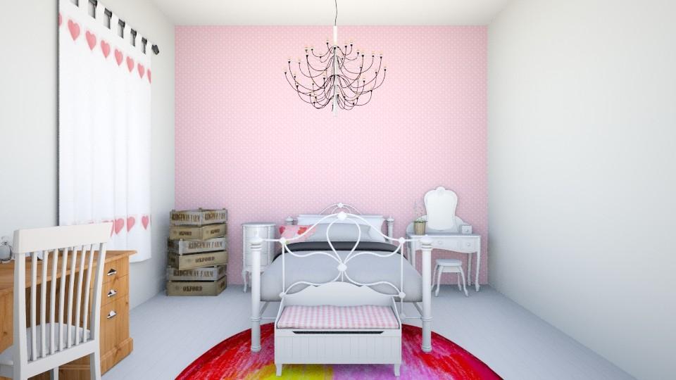 girls bedoom - Kids room - by LuanaSoaresDesigns