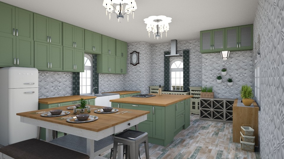 Shabby Chic Kitchen  - by trubble
