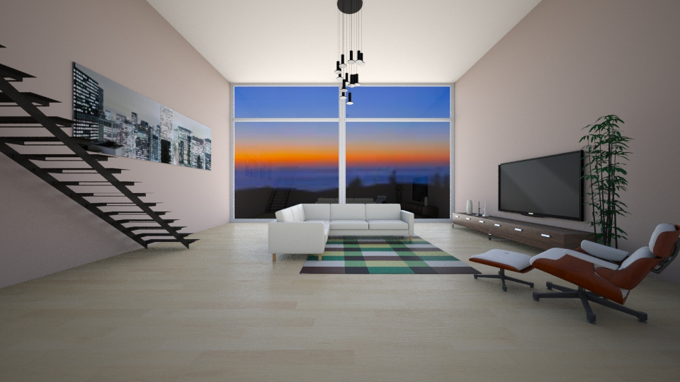 Skyling Series IX - Modern - Living room - by can264