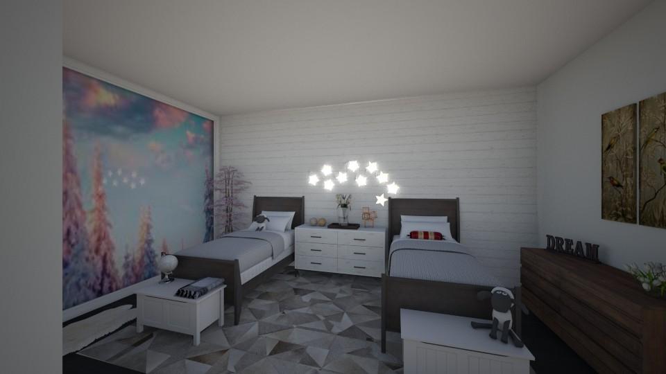 kk - Bedroom - by tete_architect