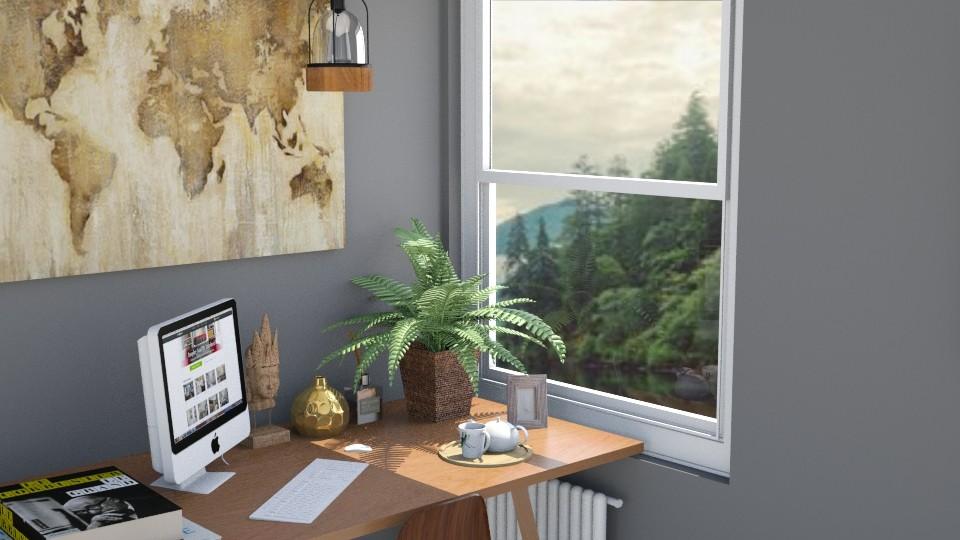 Office - Modern - Office - by AnaCatarina