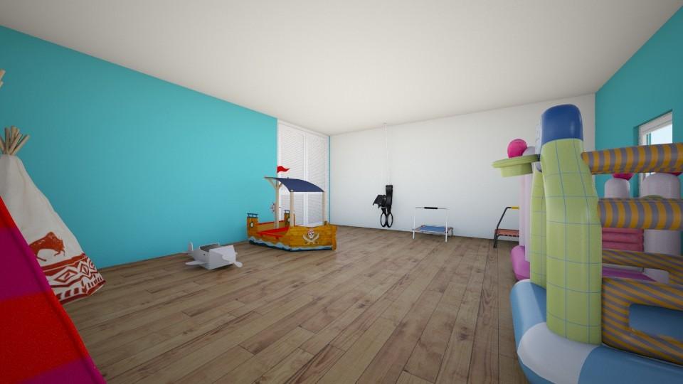 habitacion  - Kids room - by gaby_28