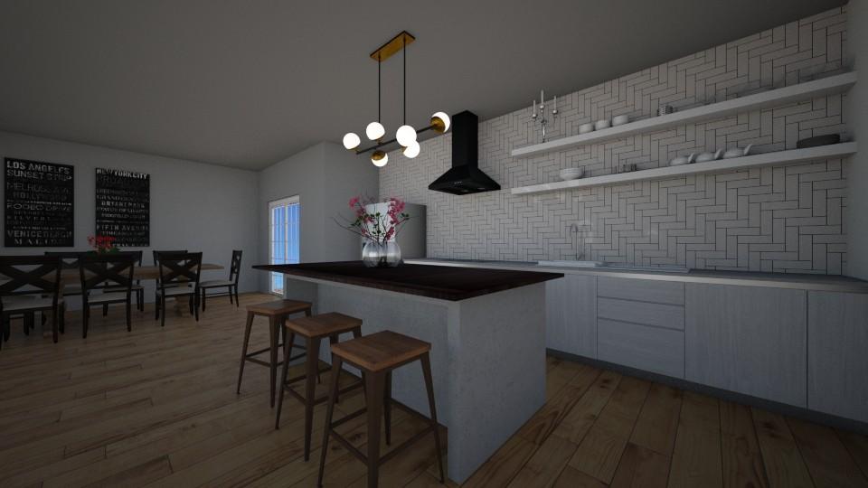 Kitchen - Kitchen - by BrynnWisse