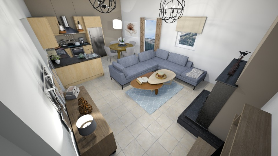 sxiza 11 - Living room - by Georgia Perrou