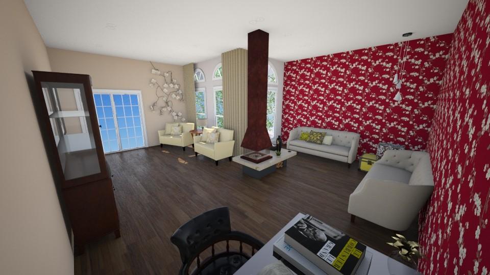 redyellow room - by beatrizrauta