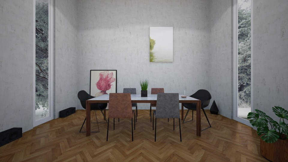 Modern Dining Room - by Bastin