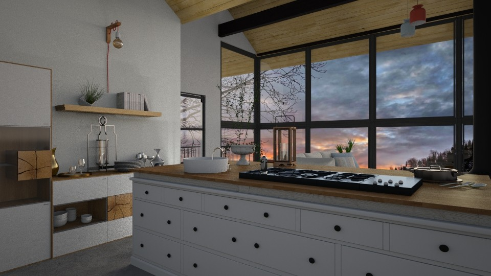 MCM Kitchen - Kitchen - by seth96
