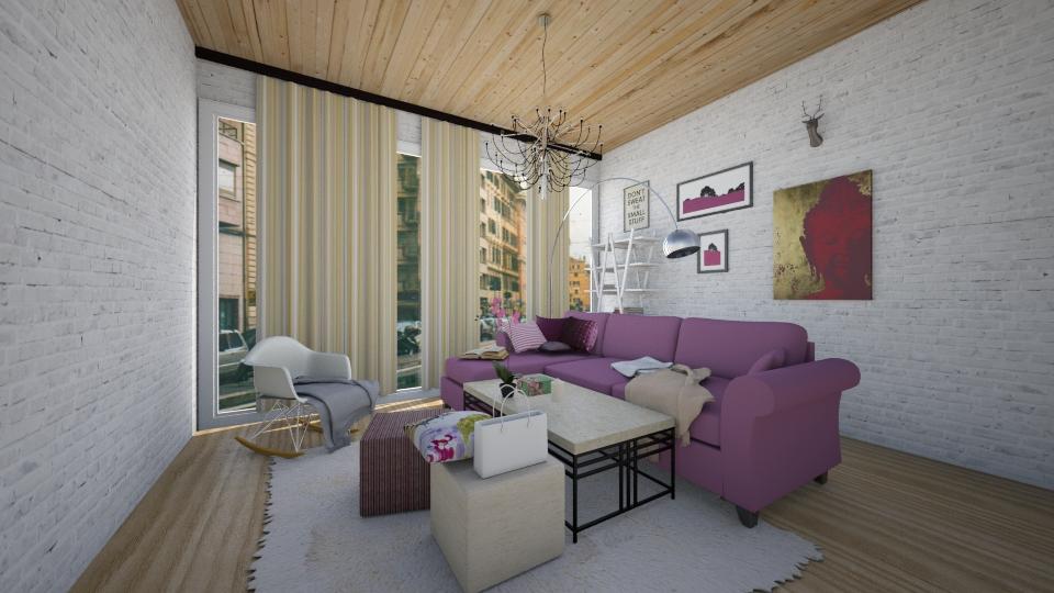 Guest room - Living room - by Polya_Nikols