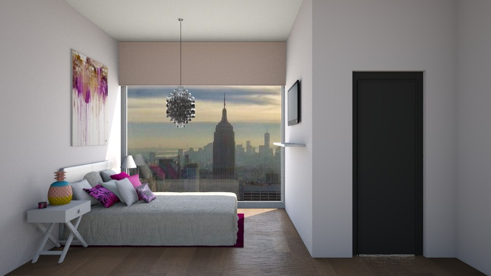 Bedroom  - Modern - Bedroom - by CatLover0110