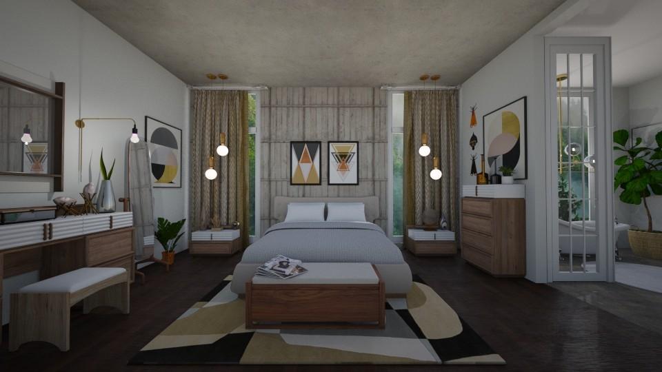 Nature Gold - Bedroom - by tomorrowneverdie22