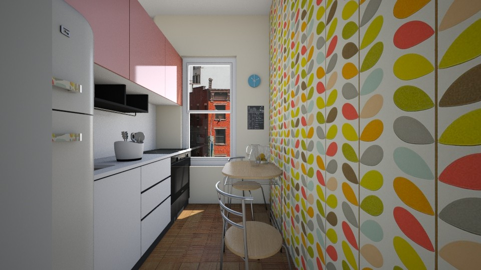 Studio Apartment Chelsea - Kitchen - by manicpop