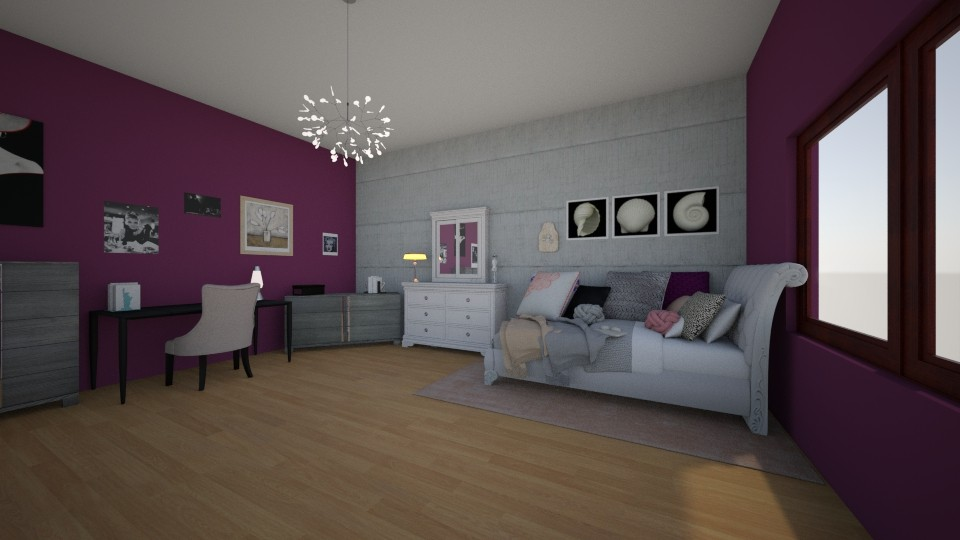 Hania room - Glamour - Bedroom - by Zuziq