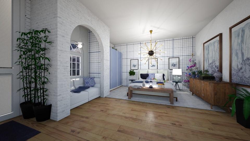 beautyblue - Bedroom - by dena15