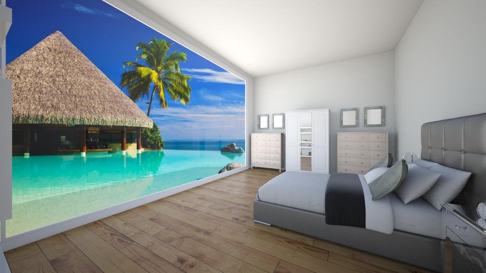 bedroom 2 - Bedroom - by MilenaTheDesigner