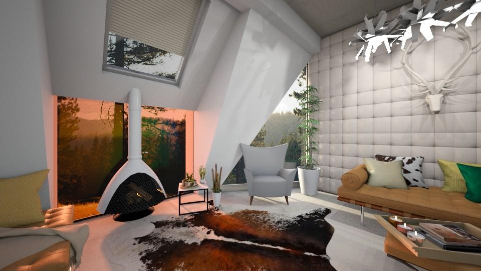 Mid Century - Feminine - Living room - by mmehling